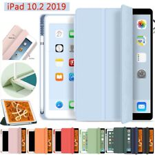 Leather Case Cover With Pencil Holder For iPad 5/6/7th Pro10.5/11'' 2020 2nd Gen