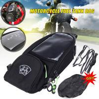 Motorcycle Waterproof Magnetic Oil Fuel Tank Bag Phone GPS Pouch Motorbike