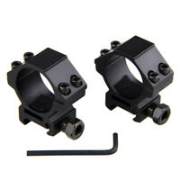 30mm Ring 21mm Picatinny Weaver Rail LOW Profile Scope Mounts For Scope
