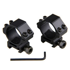 30mm Ring 21mm Picatinny Weaver Rail LOW Profile Scope Mounts For Rifle Scope