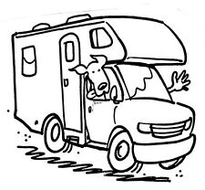 Unmounted Rubber Stamps, RV Stamps, Travel, Vacation, Family, Dogs, Camping