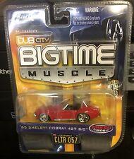 Dub City Bigtime Muscolo '65 Shelby Cobra 427 S/C, Tutti Metallo, GOMMA Tires. 1