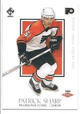 PATRICK SHARP 2002-03 Private Stock ROOKIE CARD RC x/1550 #176