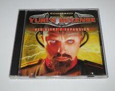 Command & Conquer RED ALERT 2 & Yuri's Revenge - PC Game - CD - 2001 - edc