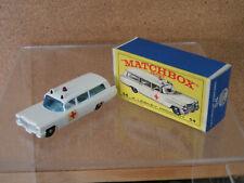 Lesney Matchbox 54 Cadillac Ambulance Mint in Original Box 1960's