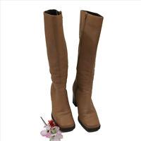 Amanda Smith Tan Leather Boots US 7M SKU F030