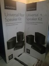 Open-Box Excellent: Insignia- Universal Rear Speakers (Pair) - Black