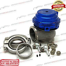 44MM V BAND WASTEGATE BLUE 14PSI TiAL REP MVR Water/Air Cooled 1 Year Warranty