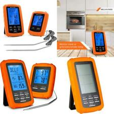 New listing Probes Bbq Grilling Baking Kitchen Cooking Smoker Timer Pre Programmed Temps