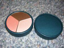 STILA Seasonal Eye Shadow Trio Shimmer Shadows WARM Brown Peach NWOB