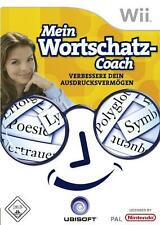 Nintendo Wii Spiel ***** Mein Wortschatz Coach **************************NEU*NEW