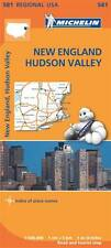 New England, Hudson Valley (Michelin Road Atlases & Maps)