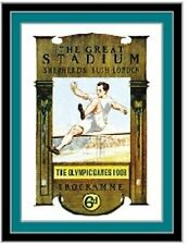 2012 London Historic 1908 Olympic Poster Pin New in Package