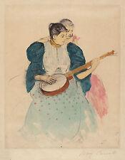Mary Cassatt Reproductions: The Banjo Lesson - Fine Art Print