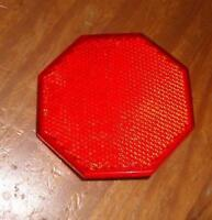 NOS Muscle Bike Rear GEM Seat Bicycle Stop Sign Reflector