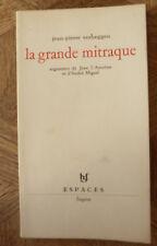 JEAN PIERRE VERHEGGEN  LA GRANDE MITRAQUE FAGNE Ed Coll Espaces1968 envoi