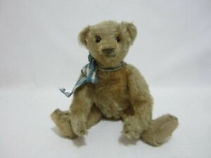 "STEIFF Antique Teddy Bear 10"" Shoe Button Eyes Early 1900s"