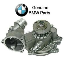 BMW E53 E60 E63 X5 Water Pump with Gasket and Heater Return Pipe O-Ring Genuine