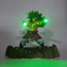 RARE NEw Dragon Ball Z Super Saiyan Broly Led Lamp Figure