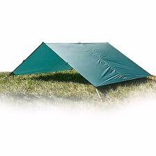 Aqua Quest Guide 13 x 10 ft Large Waterproof Tarp UltraLight Camping - Green
