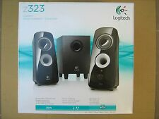 Logitech Z323 Speaker System 2.1 Black 980-000356 RMS 30W 2x6W+18W New