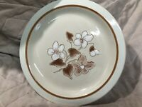 """Finesse10.75"""" Dinner Plate, SY-7708, Simply Spice, Stoneware Japan, EUC"""