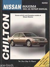 Nissan Maxima, 1993-1998, Chilton Repair Manual