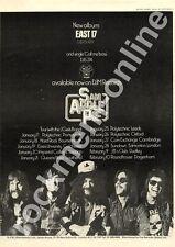 Sam Apple Pie East 17 Essex University MM3 LP/Tour advert 1973