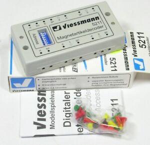 Magnetartikeldecoder für Motorola Viessmann 5211 NEU OVP