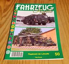 FAHRZEUG Profile Nr. 50 Flugabwehr der Luftwaffe