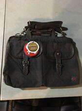 Token Bags Waxed Knickerbocker Laptop Bag 13 Inch black