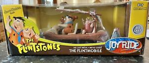 The Flintstones Flintmobile JOYRIDE 1:18 Diecast Model - Hanna Barbera RARE