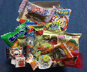 18 Piece DAGASHI Variety Box Set Japanese Candy / Gum / Snacks - Christmas Gift