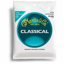 Martin M120 Silverplated Classical Guitar Strings, High Tension Single Set