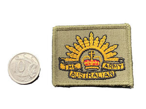 Australian Rising Sun Embroided Patch