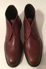 Donald J Pliner Men's Ericio Chukka Boots Leather Brandy US Sz 10 M