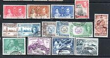 Bermuda 1938 GVI  sets used