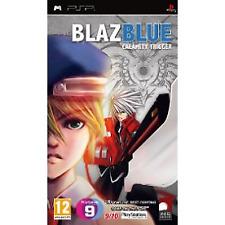 BlazBlue Calamity Trigger Game PSP