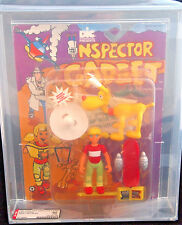 1992 TIGER TOYS INSPECTOR GADGET PENNY AND BRAIN 5 INCH FIGURE AFA 80 Y-NM RARE!