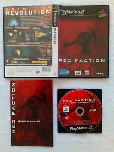Red Faction PS2 / Pal . Fr . tbé
