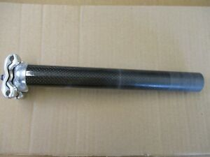 CAMPAGNOLO RECORD CARBON/ALLOY SEAT POST 27.2mm GC.