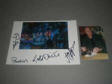 Roger Chapman and the Shortlist signed signiert Autogramm auf 20x28 Foto in pers