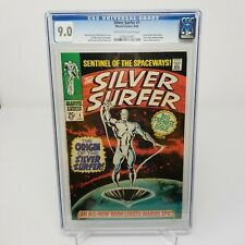 MARVEL The Silver Surfer 1 CGC 9.0/off white pages  1968 High grade key