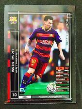 2015-16 Panini WCCF Lionel Messi card Barcelona