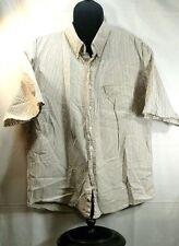 8b719cb14b1b3a Lord Taylor Casual Classics xl mens button front cotton short sleeve
