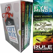 James Dashner Mortality Doctrine Collection Vol(1-3) 3 Books GiftWrappedSlipcase