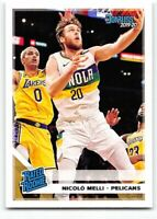 2019-20 Panini Chronicles #197 Donruss Rated Rookie RC Nicolo Melli Pelicans