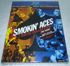 Smokin' Aces Collection (2 Movies) (2010, Canada, Region Free) w/ Slipcover NEW