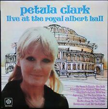 PETULA CLARK LIVE AT THE ROYAL ALBERT HALL PRESS. ANGLAIS UK 33T LP PYE MINT