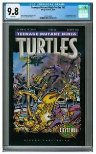 Teenage Mutant Ninja Turtles #52 (1992 Mirage 1st Appearance Karai CGC 9.8 KR481
